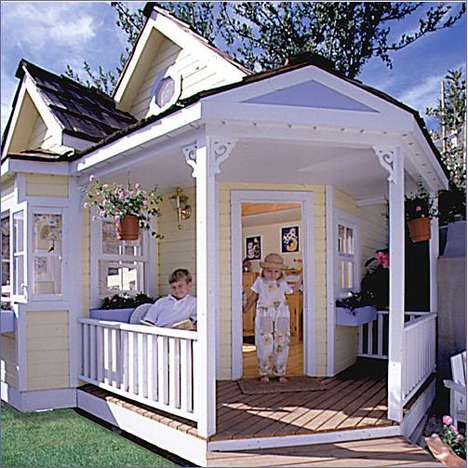 luxury playhouses and jealous moms whimsy
